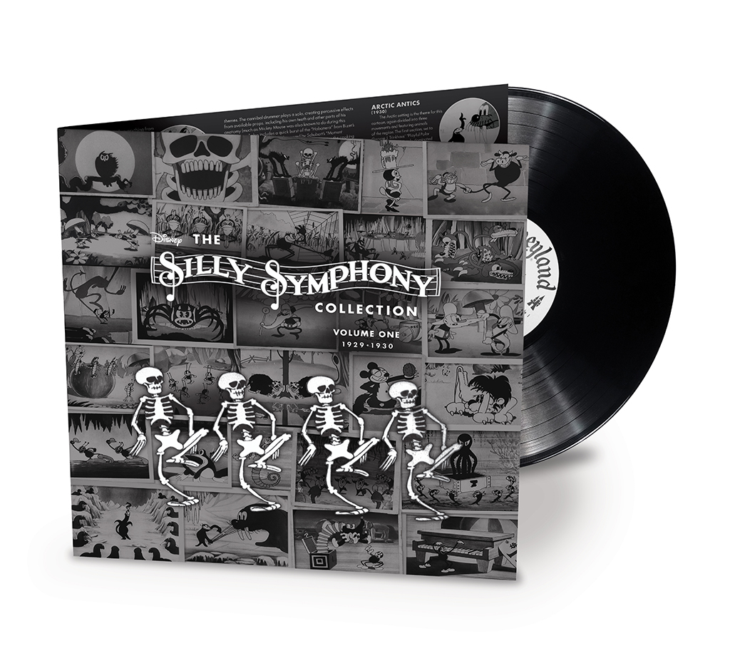 Disney Silly Symphony LP Collection Volume 1 cover
